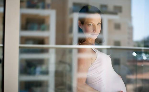 צילומי הריון ביתיים - מירי פורמן (צילום: מירי פורמן)