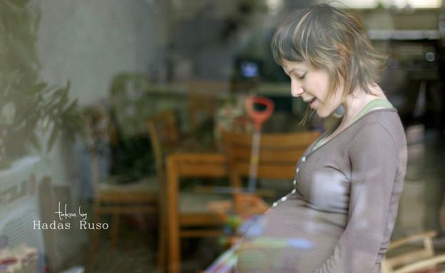 צילומי הריון ביתיים - הדס רוסו (צילום: הדס רוסו)