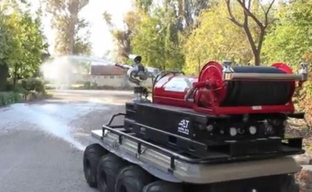 רכב אמסטף (צילום: סרטון תדמית)