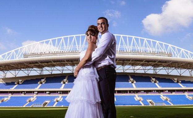 החתונה של רותם וצחי (צילום: ניר בוקסנבאום)