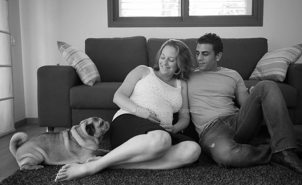 צילומי הריון ביתיים - אנדה יואל (צילום: אנדה יואל)