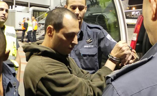 משה בן איבגי, הערב (צילום: דוברות משטרת ישראל)