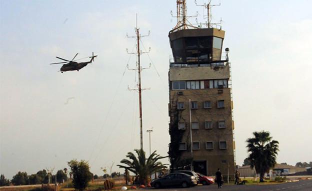 תרגיל בבסיס תל נוף (צילום: אתר חיל האוויר)