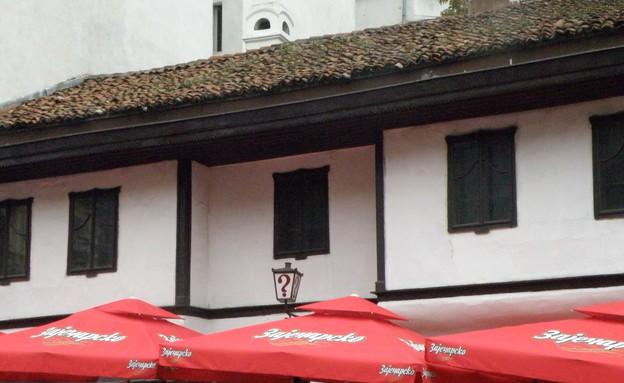 בית קפה סימן שאלה בבלגרד, טיולים מפתיעים (צילום: לירון מילשטיין)