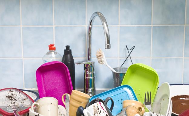 מדיח, כלים (צילום: אימג'בנק / Thinkstock)