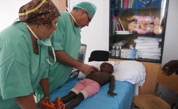 צפו: רופאים ישראלים במסע מרגש ללב אפריקה (צילום: עידן דוידזון, פייסבוק)