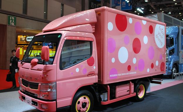משאית מיצובישי ורודה