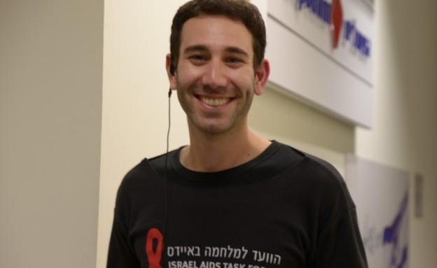 עידן ברק (צילום: הוועד למלחמה באיידס)