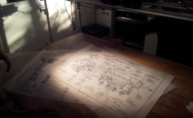 המפות הסודיות (צילום: יעל שיפמן, עובדה)