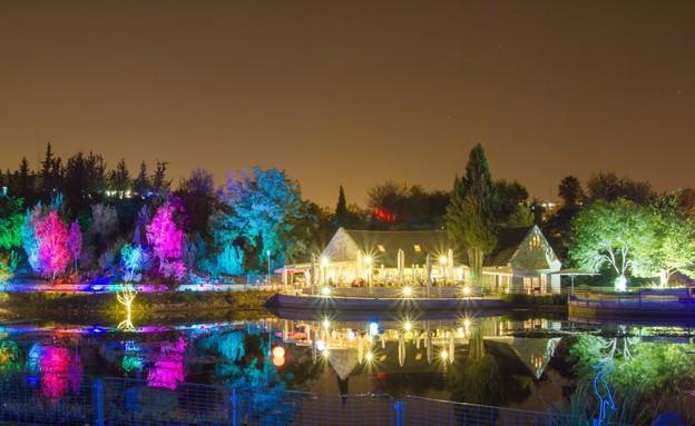 חמשושלים - באור אחר בגן הבוטני , חנוכה 2013