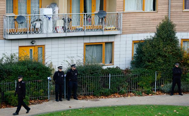 בית הזוועות בלונדון, בשבוע שעבר (צילום: רויטרס)