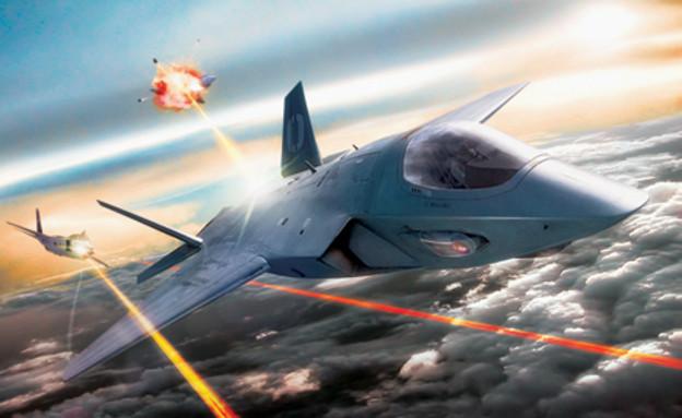נשק לייזר למטוסים (צילום: The Aviationist)