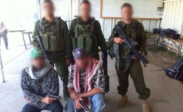 """יחידת המסתערבים של משמר הגבול (צילום: דוברות מג""""ב)"""