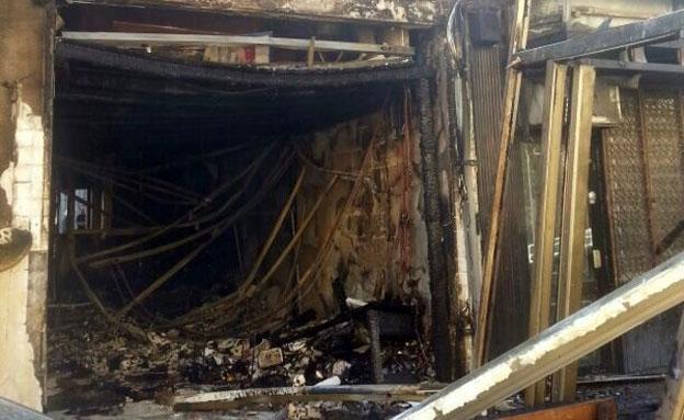 נזק רב נגרם למקום (צילום: מתן חצרוני, חדשות 2)
