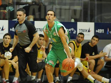 רוט. חיפה רוצה לשמור על המקום הראשון (צילום: עמרי שטיין) (צילום: ספורט 5)