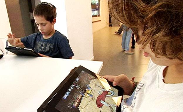 מחקר חדש: משחקי המחשב תורמים להתפתחות הילדים (צילום: חדשות 2)