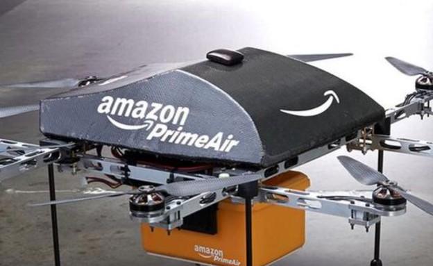 amazon prime air (צילום: 60 Minutes)