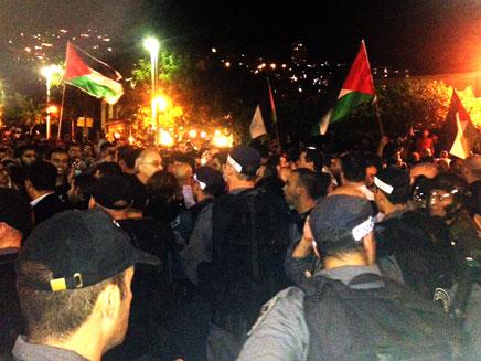 בדואים, חיפה, הפגנה