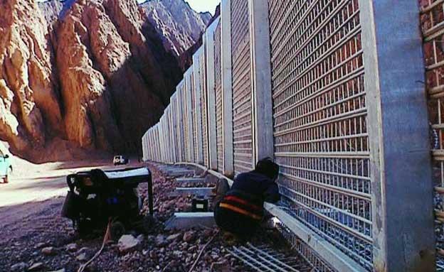 הושלמה גדר הגבול בין ישראל לסיני (צילום: חדשות 2)