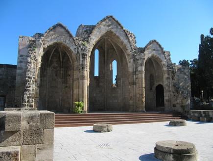 מקום התפילה הישן של מעמד הפועלים, רודוס