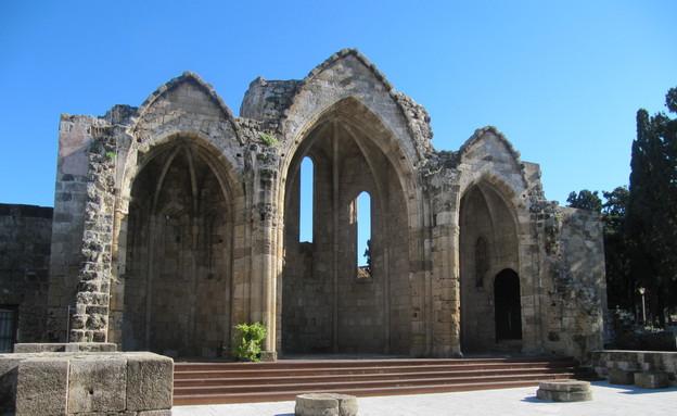 מקום התפילה הישן של מעמד הפועלים, רודוס (צילום: קווינקו)