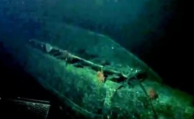 תמונות ראשונות מצוללת ה-i400 (תמונת AVI: אוניברסיטת הוואי, יוטיוב)
