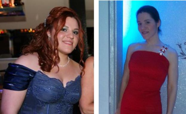 מעיין הלימי לפני ואחרי (צילום: תומר ושחר צלמים, צילום ביתי)