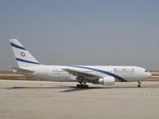 המתחרה: 767 של אל-על (צילום: יונתן בייסקי)