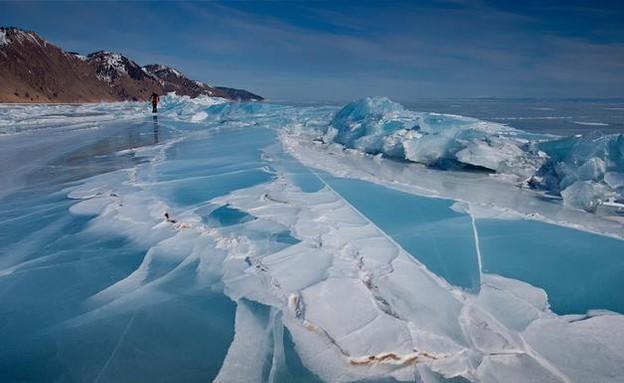 מבוך קרח, ימת ביקאל (צילום: iliketowastemytime.com)