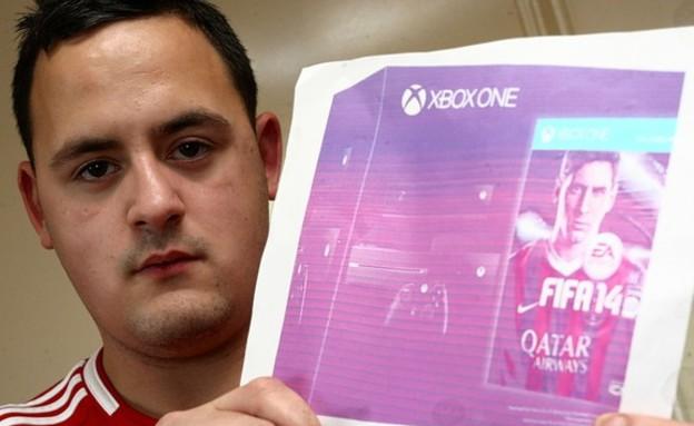 קנה Xbox One וקיבל תמונה