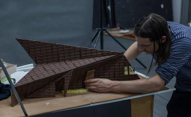 אדריכלות משוקולד, קוביות (צילום: Hargreaves and Caitlin Levin)