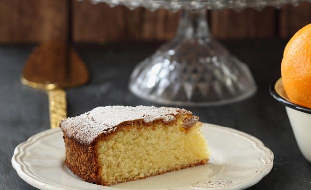 עוגת תפוזים ושמן זית פרוסה (צילום: חן שוקרון, אוכל טוב)