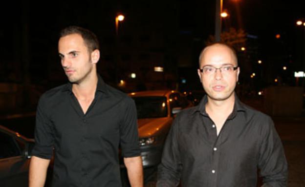 טל ברמן ואביעד קיסוס - חתונה אמיר פיי גוטמן אורחים (צילום: אורי אליהו)