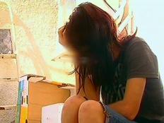 צעירה שעברה אונס. אילוסטרציה (צילום: חדשות 2)