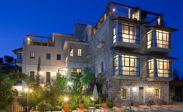מלון בוטיק - וילה גליליי בלילה (צילום: אלעד שריג)