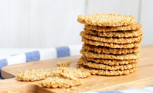 עוגיות שומשום (צילום: שרית נובק - מיס פטל, אוכל טוב)