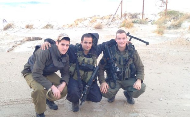 חיילי גולני ברצועת עזה (צילום: נתנאל בריסק)