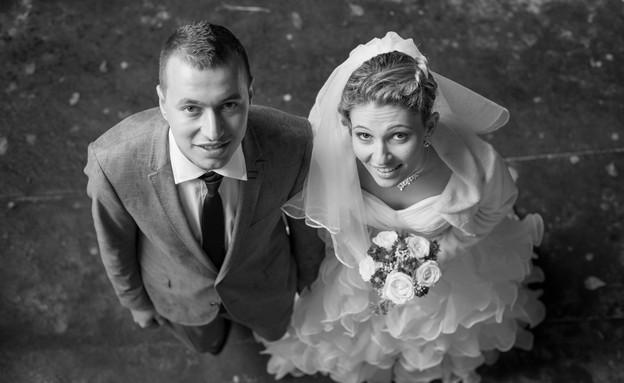 החתונה של אלונה ויורה (צילום: מישה קמינסקי)
