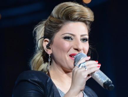 שרית חדד בהאנגר (צילום: שרון רביבו)
