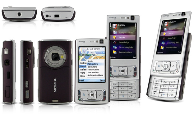 טלפון סלולרי עם סליידר