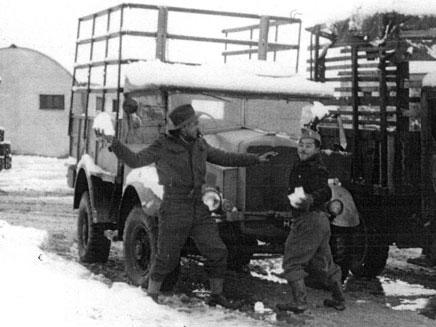 כך נראה השלג במגדיאל ב-1951