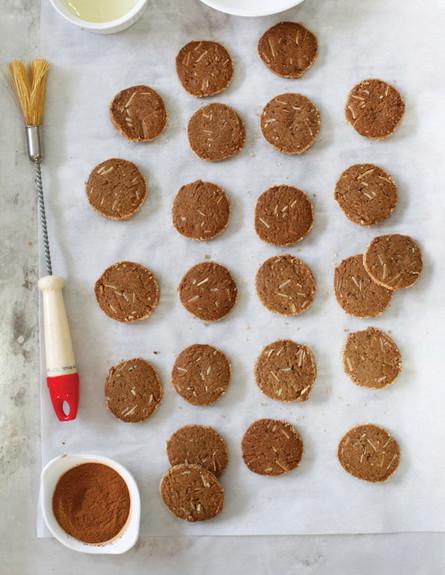 עוגיות ג'ינג'ר של אורן בקר (צילום: אפיק גבאי, אוכל טוב)