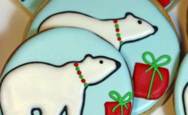 עוגיות דובי קוטב  (צילום: sweetopia)
