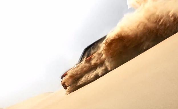 ריינג' ספורט במדבר החול