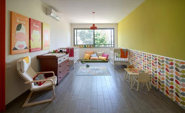 נווה עמל, חדר ילדים (צילום: אילן נחום)