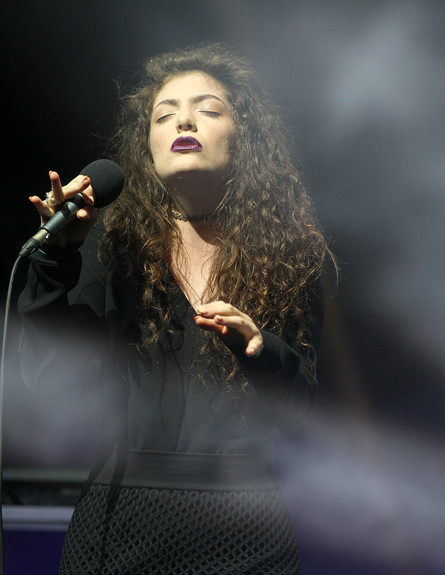 Lorde (צילום: Fiona Goodall, GettyImages IL)