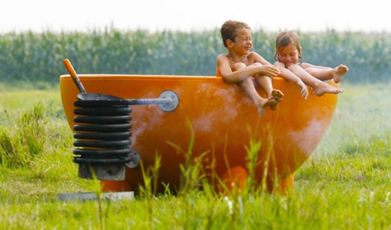 בית חם, אמבטיה (צילום: www.weltevreeshop.nl)