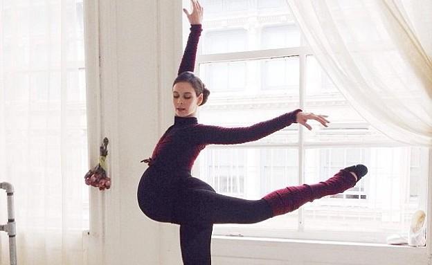 בלרינה בהריון (צילום: אינסטגרם balletbeautiful)