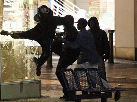 התפרעויות בלונדון (צילום: חדשות 2)