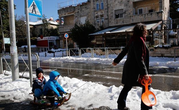 """אחרי השלג: המלצות לטיולים בסופ""""ש (צילום: רויטרס)"""